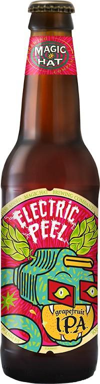 Magic Hat Electric Peel IPA - 12oz - 6 Bottles