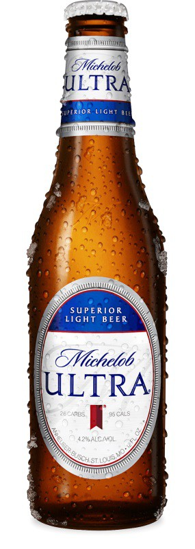Michelob Ultra Light Beer 12oz - 6 Bottles