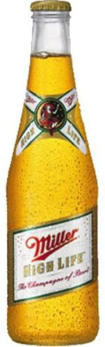 Miller High Life Bottles 12oz - 12 Bottles