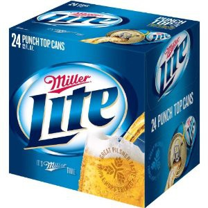 Miller Lite 12oz - 24 Bottles