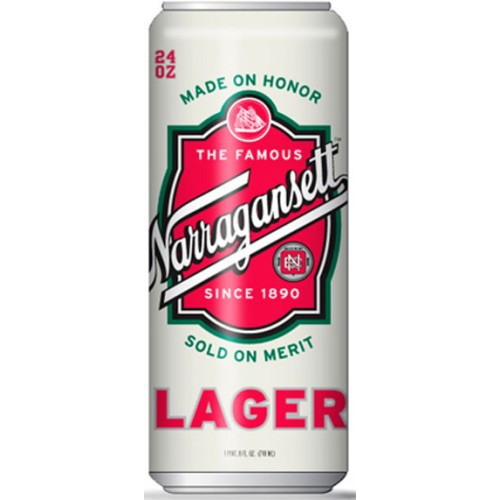 Narrgansett Lager 16oz - 6 Pack