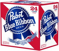 Pabst Blue Ribbon 12oz - 24 Pack