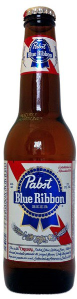 Pabst Blue Ribbon Bottles 12oz - 6 Pack