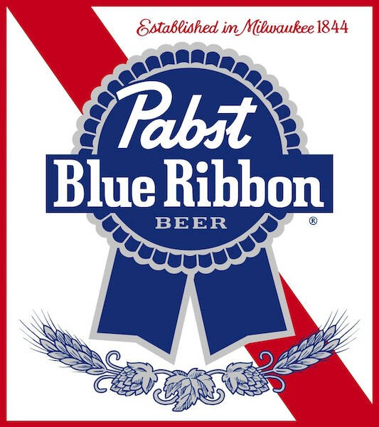 Pabst Blue Ribbon, 15.5 Gal - HALF BARREL Keg