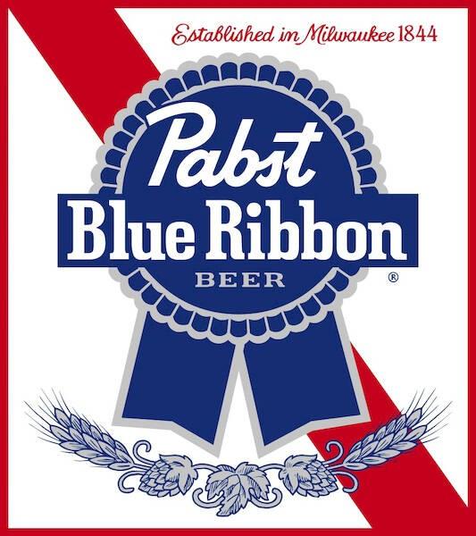 Pabst Blue Ribbon, 15.5 Gal - HALF BARREL Keg
