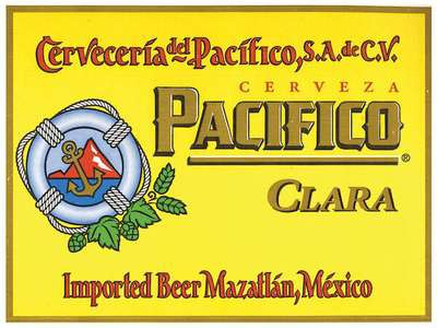 Pacifico, 15.5 Gal - HALF BARREL Keg