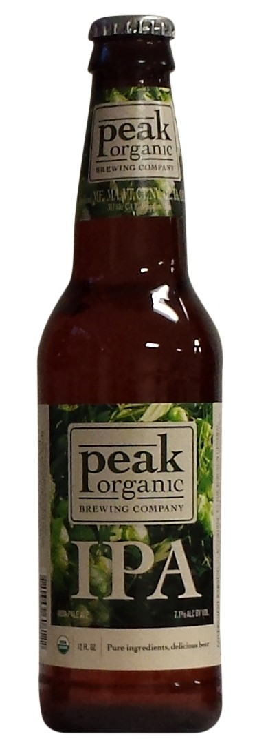 Peak Organic IPA 12oz - 12 Bottles