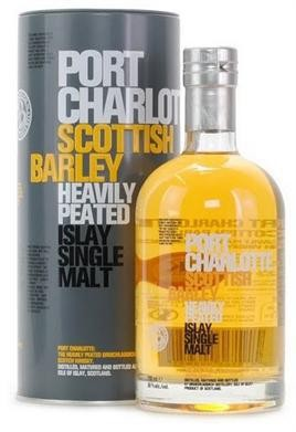 Port Charlotte - Scottish Barley Heavily Peated (750ml)