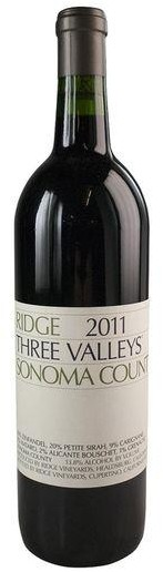 Ridge - Zinfandel Sonoma County Three Valleys (750ml)