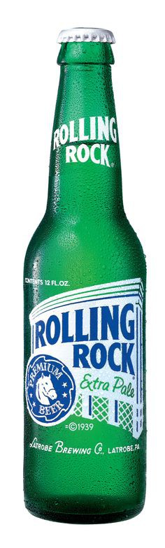 Rolling Rock Extra Pale 12oz - 12 Bottles