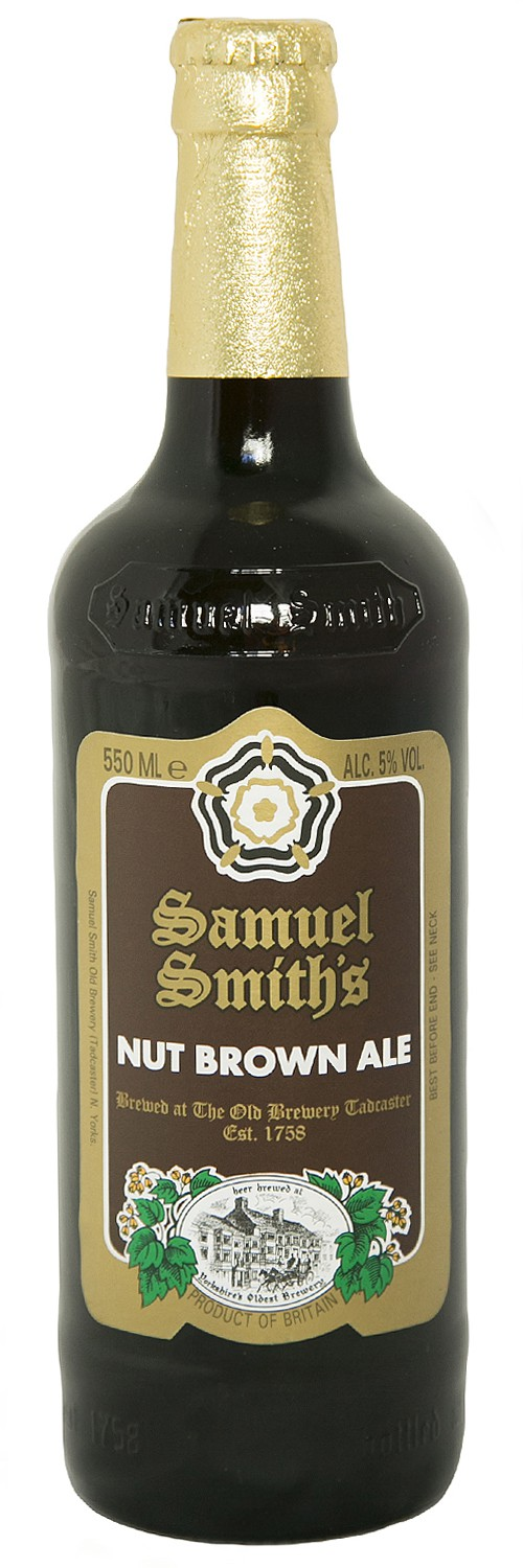 Samuel Smith's Nut Brown Ale 18.7oz - 2 Pack