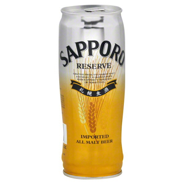 Sapporo - Reserve Beer 22oz - 2 Pack