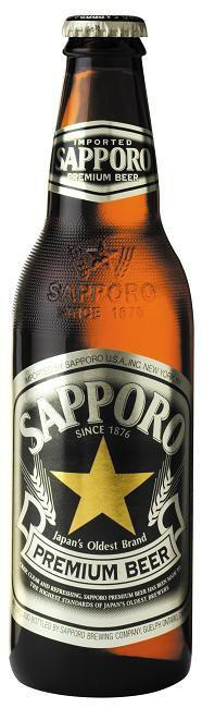 Sapporo Premium Beer 12oz - 12 Bottles