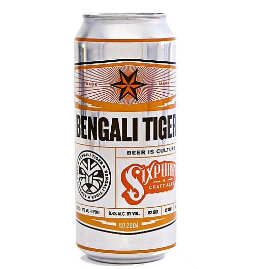 Six Point - Bengali Tiger IPA 12oz - 6 Cans