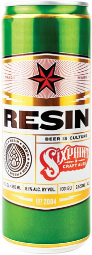 Six Point Resin 12 Cans