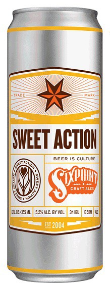 Six Point Sweet Action - 12oz - 6 Cans