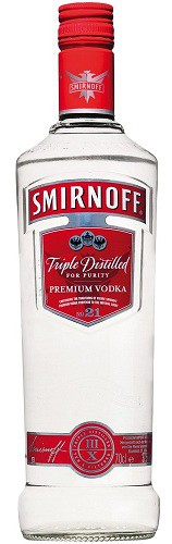 Smirnoff - Vodka 80 proof (1L)