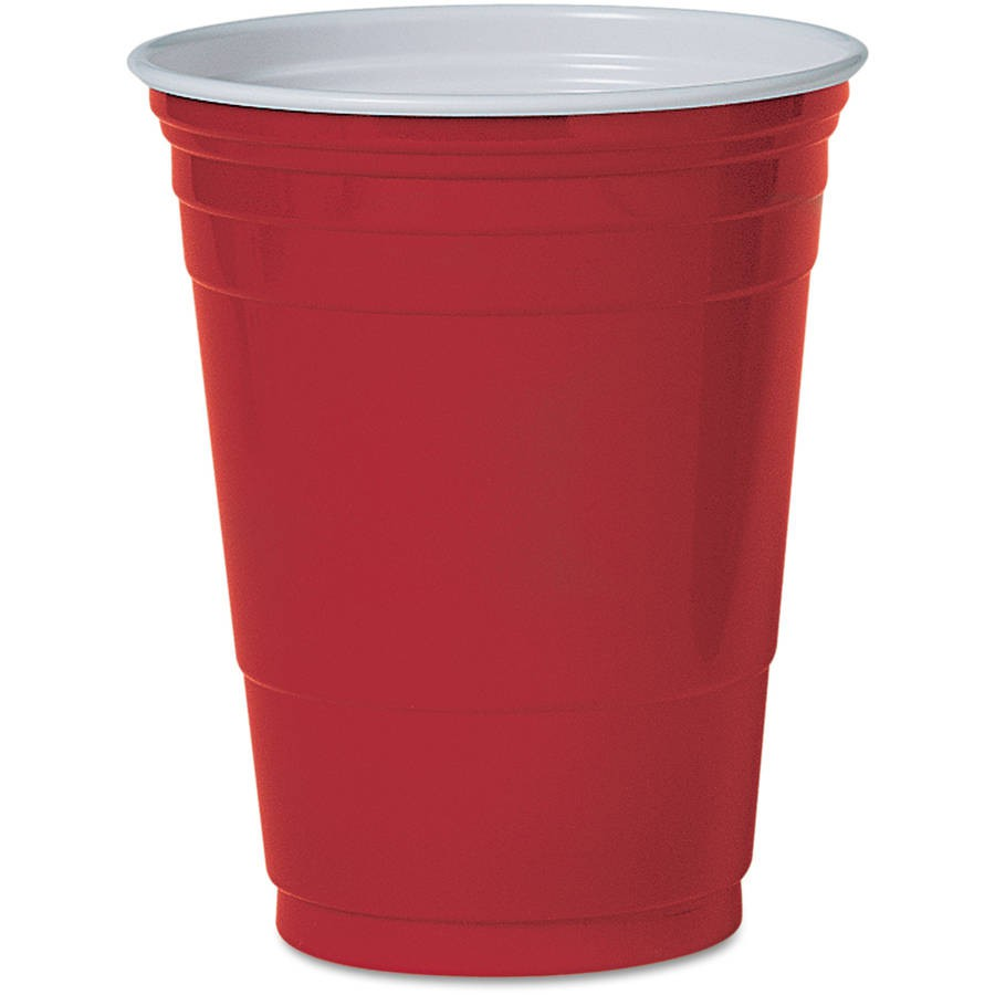 Plastic Party Cups 50 Cups 16oz