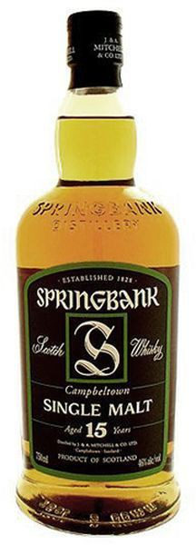 Springbank - 15 Year Old Scotch Malt Whisky (750ml)