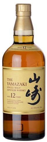 Yamazaki - Single Malt Whisky 12 year old (750ml)