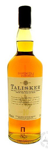 Talisker - Single Malt Scotch 10 year Isle of Skye (750ml)
