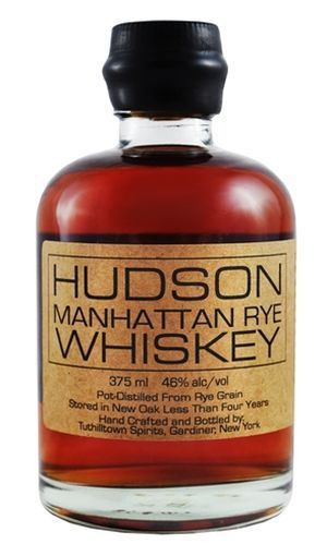 Tuthilltown Spirits - Hudson Manhattan Rye Whiskey (750ml)