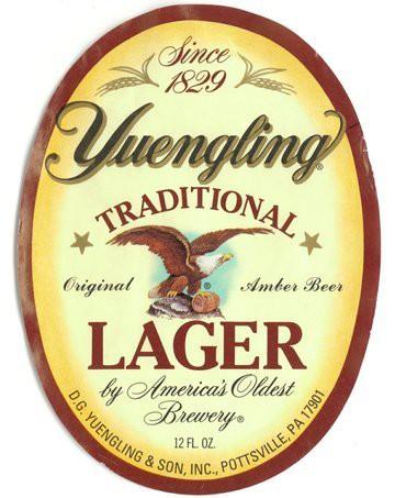 Yuengling Lager, 15.5 Gal - HALF BARREL Keg