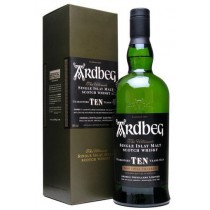 Ardbeg - Single Malt Scotch 10 Year Old Whisky (750ml)