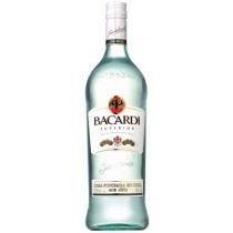 Bacardi - Rum Silver Light (Superior) Puerto Rico (1L)