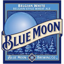 Blue Moon Belgian White, 15.5 Gal - HALF BARREL Keg
