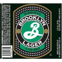 Brooklyn Lager, 15.5 Gal - HALF BARREL Keg