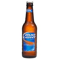 Bud Light Bottles 12oz - 6 Pack
