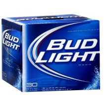 Bud Light 12oz - 30 Cans