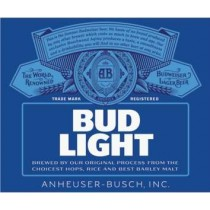 Bud Light, 15.5 Gal - HALF BARREL Keg
