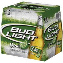 Bud Light Lime 12oz - 12 Bottles