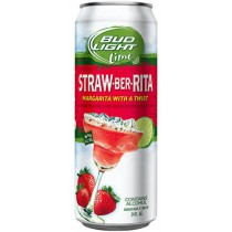 Bud Lite Straw-Ber-Rita 24oz - 4 Pack