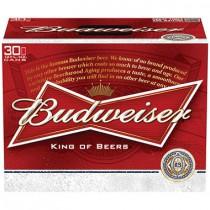 Budweiser 12oz - 30 Cans