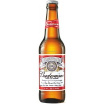 Budweiser Bottles 12oz - 24 Pack