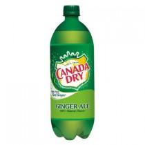 Canada Dry Ginger Ale 12 Bottles 1L