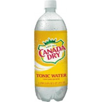 Canada Dry Tonic Water 12 Bottles 1L