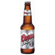 Coors Light Bottle 12oz - 12 Bottles
