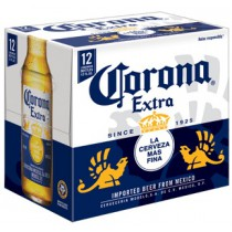 Corona Extra Bottles 12oz - 12 Bottles