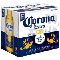 Corona Extra Bottles 12oz - 24 Pack