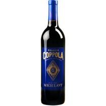 Francis Coppola - Diamond Series Merlot California Blue Label (750ml)