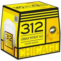 Goose Island 312 Urban Wheat Ale 12oz - 12 Bottles