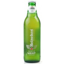 Heineken Light Beer 12oz - 12 Bottles