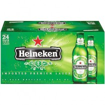 Heineken Beer 12oz - 24 Pack