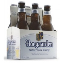 Hoegaarden Wheat Beer 12oz - 6 Pack