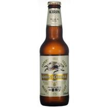 Kirin Ichiban Malt Beer 12oz - 24 Pack