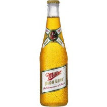 Miller High Life Bottles 12oz - 6 Bottles